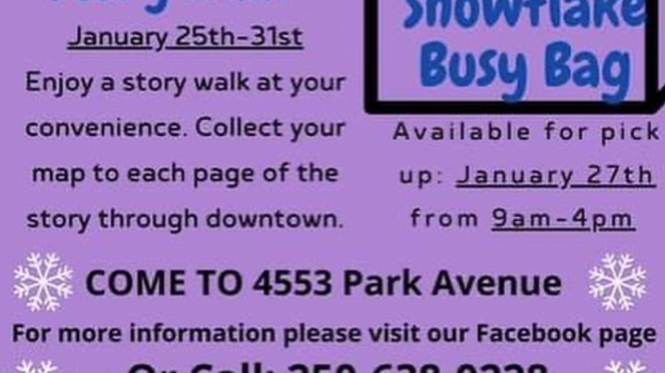 TWRCS Community Walk Poster