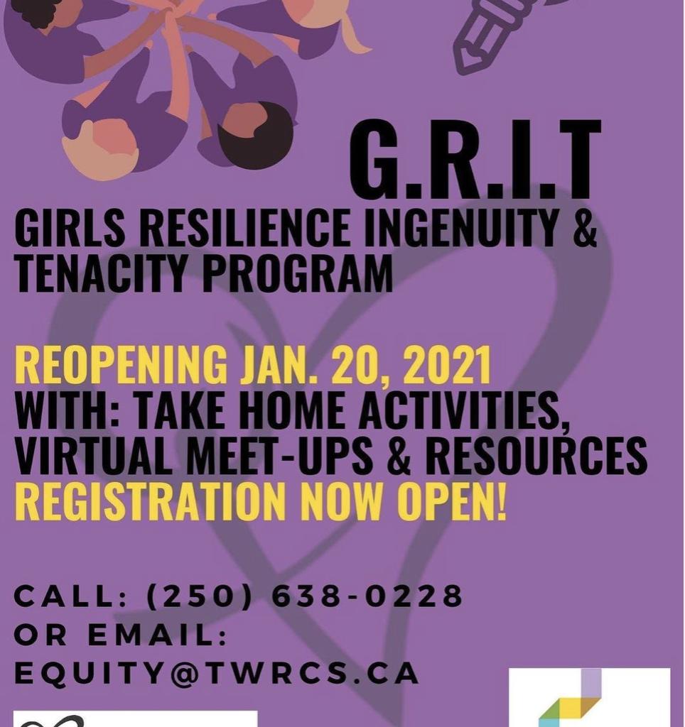 TWRCS - GRIT Program Poster