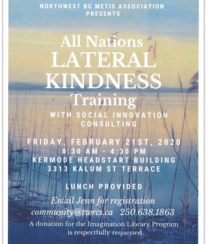 TWRCS - All nations Lateral kindness training Poster