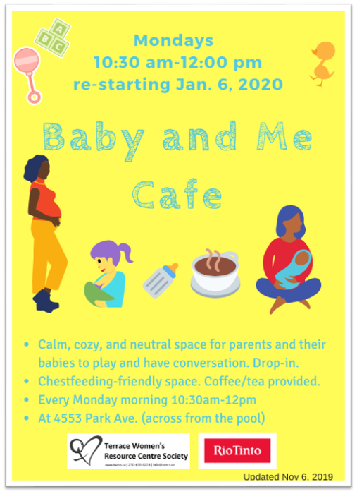 TWRCS - Baby and me cafe Poster