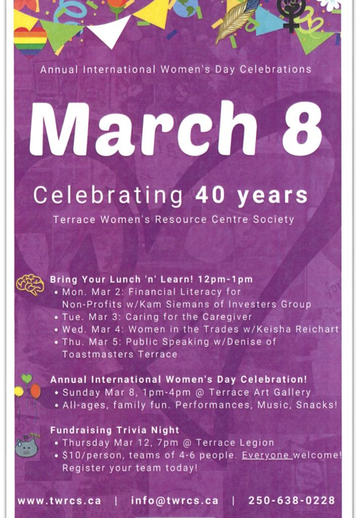 TWRCS Celebrate 40 years Poster