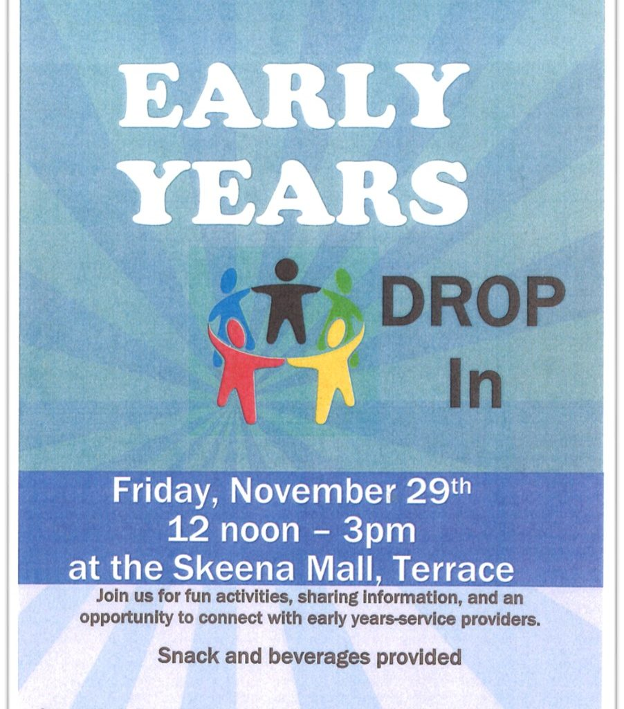 TWRCS Early Years Drop In Poster