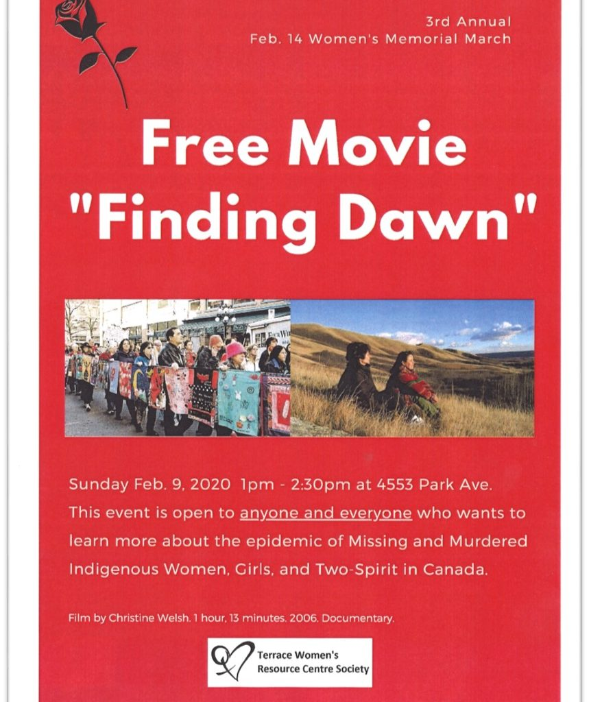 TWRCS Free Movie-Finding Dawn Poster