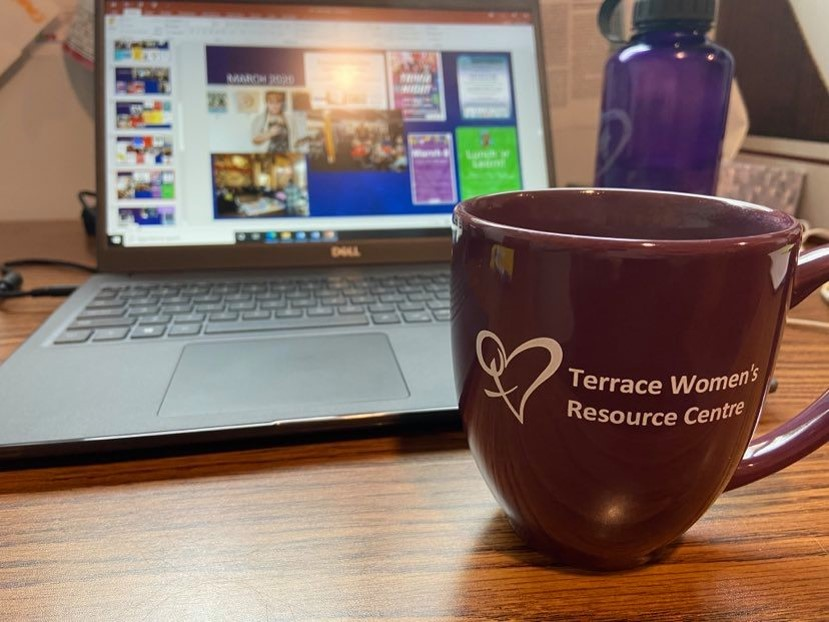 TWRCS Mug and Computer
