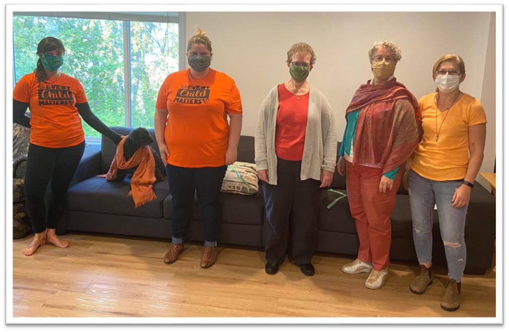 TWRCS Staff - Orange Shirt Day