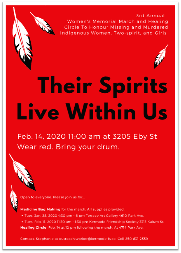 TWRCS Their Spirits Live Within us Poster
