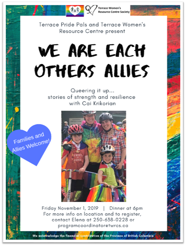 TWRCS - We are each others allies Poster