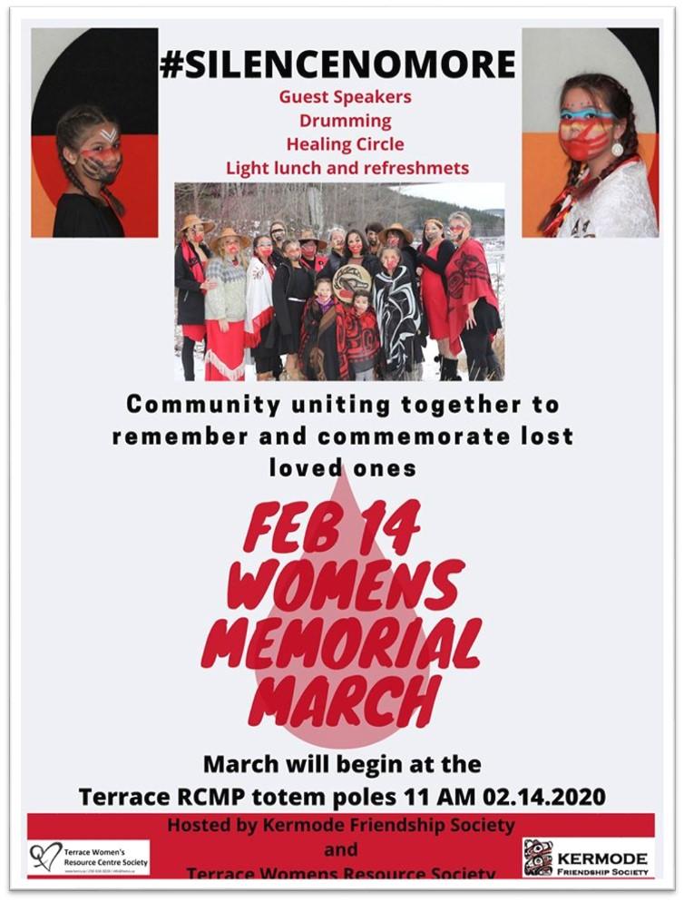 TWRCS Womens memorial March Poster