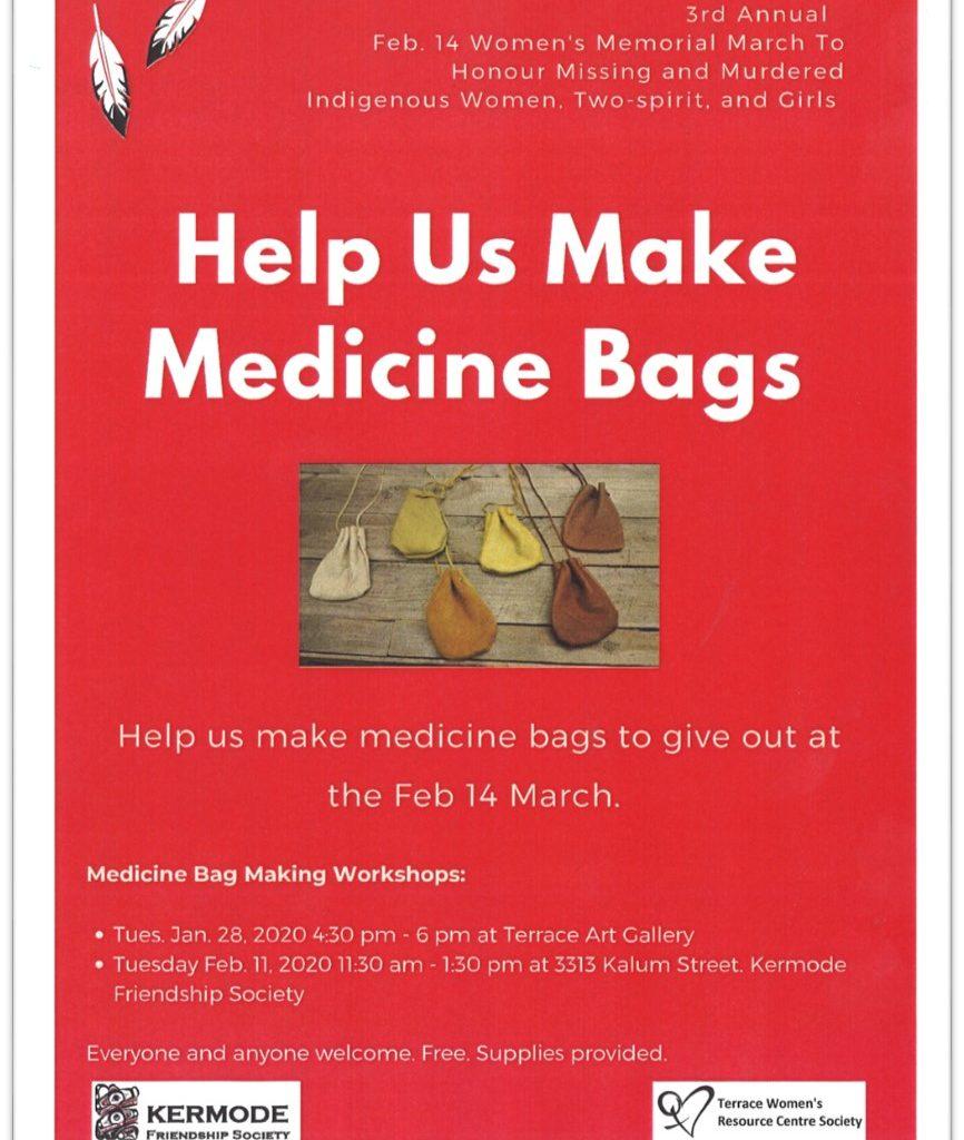 TWRCS - help us make medicine bags Poster
