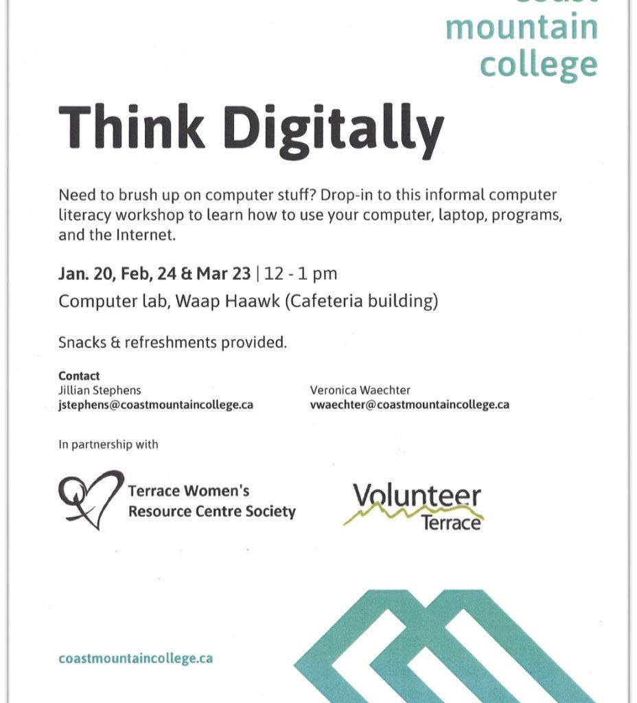 TWRCS - think digitally Poster