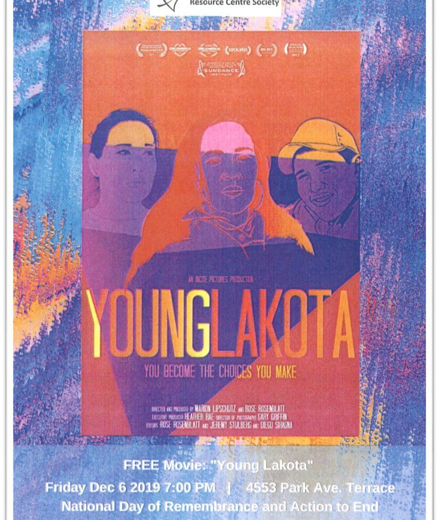 TWRCS - young Lakota Poster